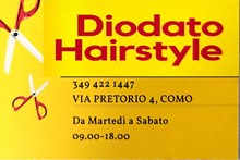 DIODATO HAIRSTYLE