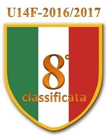 U14 2016/2017 - 8° classificata FINALI NAZIONALI