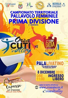 ORSACUTI VOLLEY vs CLIMACENTER GIOIA