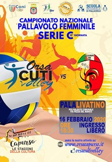 ORSACUTI VOLLEY vs. PRIMADONNA BARI
