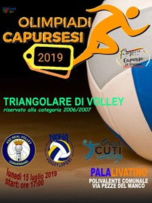 OLIMPIADE CAPURSESI 2019_VOLLEY