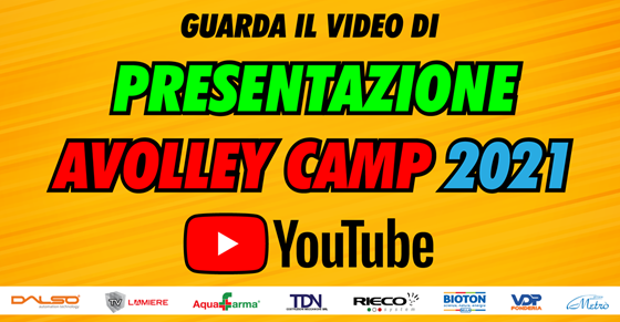 Video di Presentazione AVolley Camp 2021