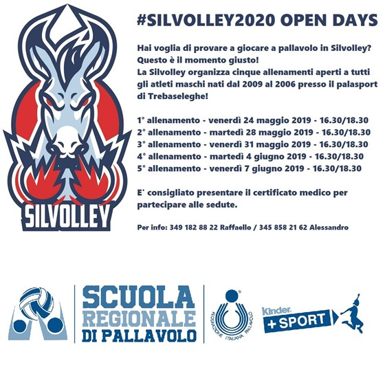 Open Days #Silvolley2020