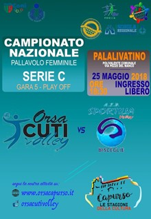 ORSACUTI VOLLEY vs SPORTILIA VOLLEY BISCEGLIE